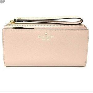 NEW Kate spade // nude pink layton wristlet